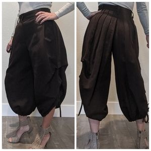 MARC JACOBS puff cropped original sample pants